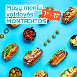 MŪSŲ MENIU VALDOVĖS - MONTADITOS